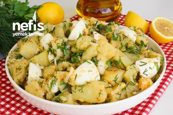 Yumurtalı Patates Salatası (videolu)
