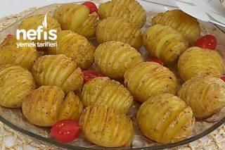Fırında  Akordiyon Baby Patates Tarifi