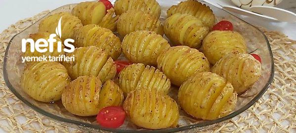 Fırında  Akordiyon Baby Patates