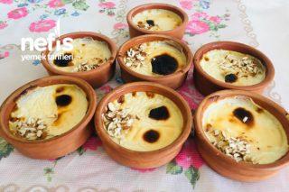 Fırında Sütlaç (Sütlü Tatlı Çayın Kahvenin Yanına İkramlık) Tarifi