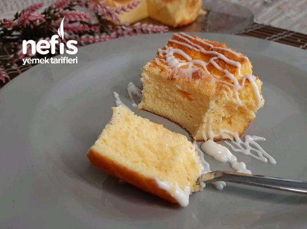 Kendini Sansebastian Kek Zanneden Yağsız Yoğurt Pastası Videolu