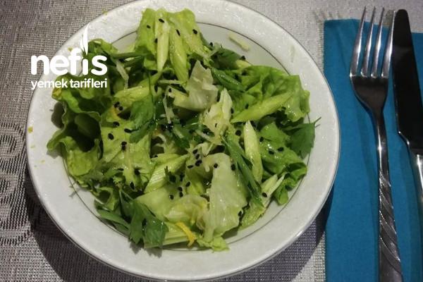 Yemelere Doyamayacağınız Yeşil Salata