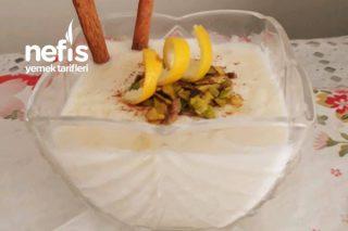 Limonlu Yaz Sütlacı (Buz Gibi) Tarifi