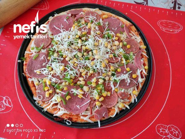 Mükemmel Hamuru İle Pizza