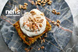 Pasta Görünümlü Fırın Mücver Tarifi
