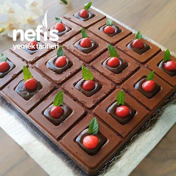 Sürprizli Brownie Kek (Ağlayan Kek Tadında)