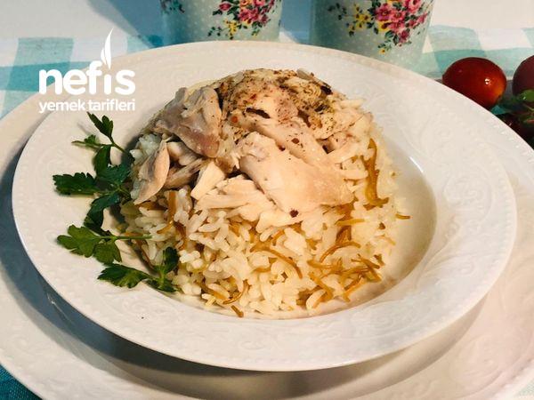 Tavuklu Tel Şehriyeli Pirinç Pilavı