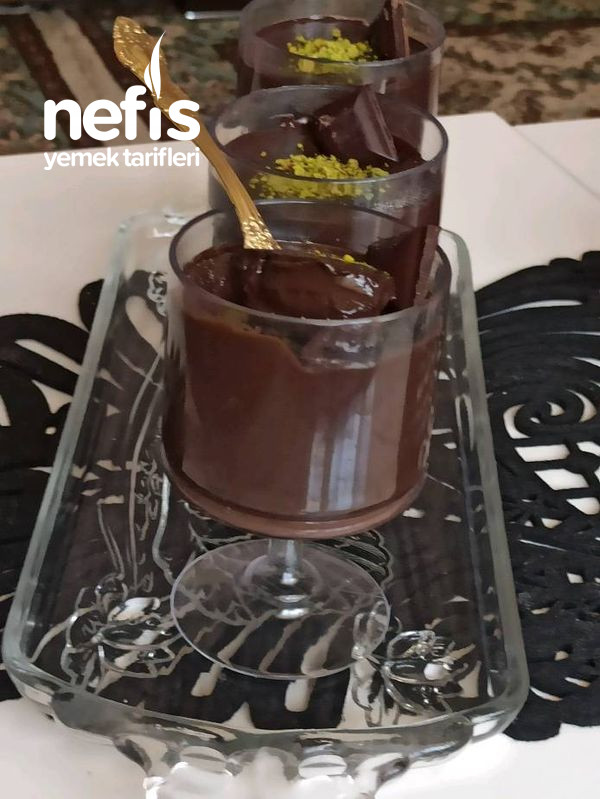 Ev Yapımı Çikolatalı Puding Hazırdan Daha Güzel
