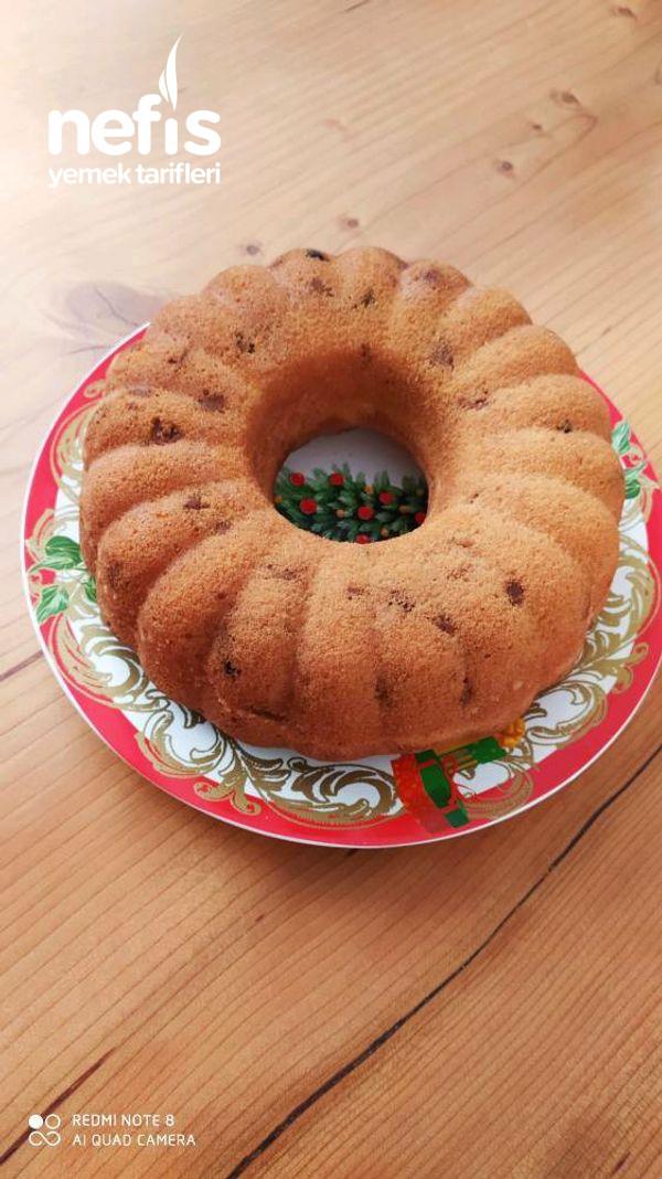 Kuru İncirli Ve Üzümlü Kek