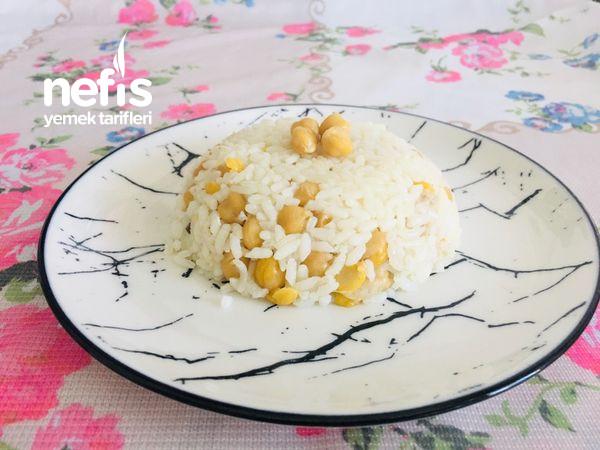 Nohutlu Pilav (Ana Yemek, Ana Yemeğin Yanına Yemeğin Yanına )