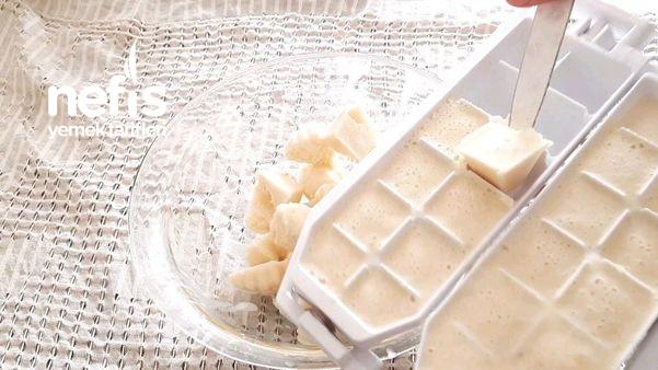 1 Bardak Süt 3 Adet Limon 4 Malzeme İle Limonlu Dondurma (Videolu)