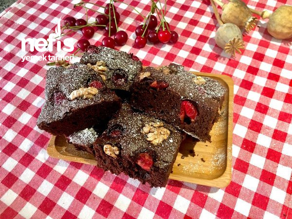 Vişneli Brownie Kek Nasıl Yapılır