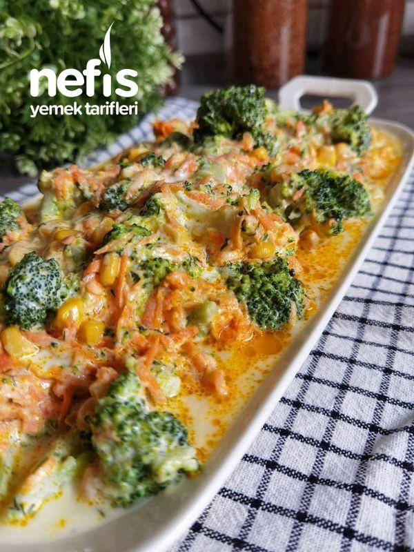 Yoğurtlu Brokoli Salata