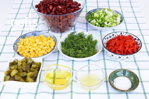 Meksika Fasülyesi Salatası-337561-080629