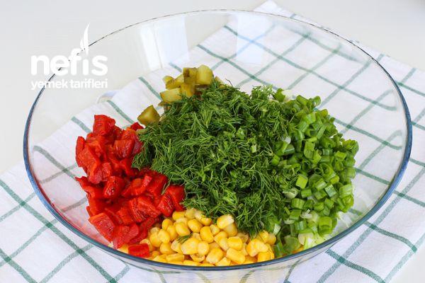 Meksika Fasülyesi Salatası-337561-080632