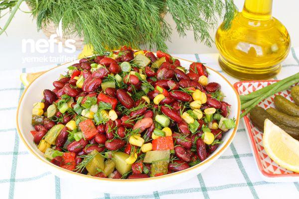 Meksika Fasülyesi Salatası-337561-080645
