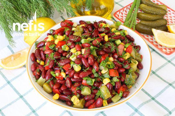 Meksika Fasülyesi Salatası-337561-080646