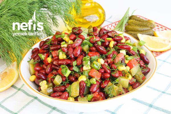 Meksika Fasülyesi Salatası-337561-080650