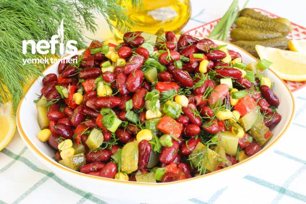 5 Dakikada En Lezzetli Salata – Meksika Fasulyesi Salatası