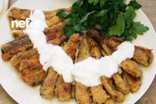 Patlıcan Balığı Mısır Unlu Patlıcan Kızartması Tarifi