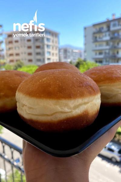 Püf Noktalarıyla Nutellalı ve Pastacı Kremalı Berliner (Brioche Donut)-9558881-090643