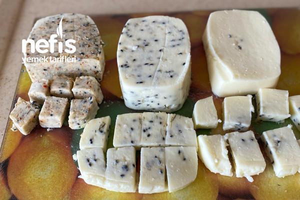 Bir Tencerede Üç Sürülebilir Peynir Yapmaya Ne Dersin Hepside Bir Birinden Güzel