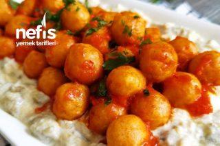 Bulgur Köfteli Yoğurtlu Patlıcan Salatası Tarifi
