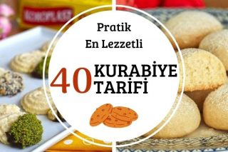 En Lezzetli 40 Kolay Kurabiye Tarifi