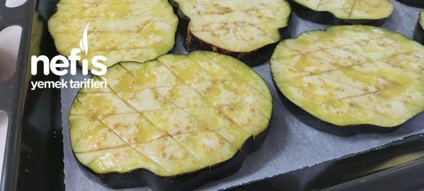 Peynirli Pizza Soslu Patlıcan