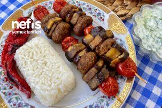 Şişte Patlıcanlı Köfte Tarifi