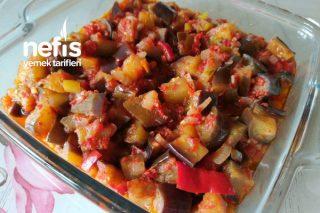 Yaz Aylarının Vazgeçilmezi Zeytinyağlı Patlıcan Tarifi