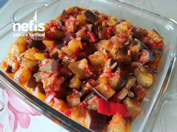 Yaz Aylarının Vazgeçilmezi Zeytinyağlı Patlıcan
