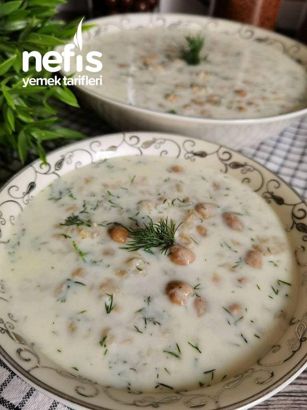 Buğdaylı Soğuk Çorba (Yaz Çorbası)