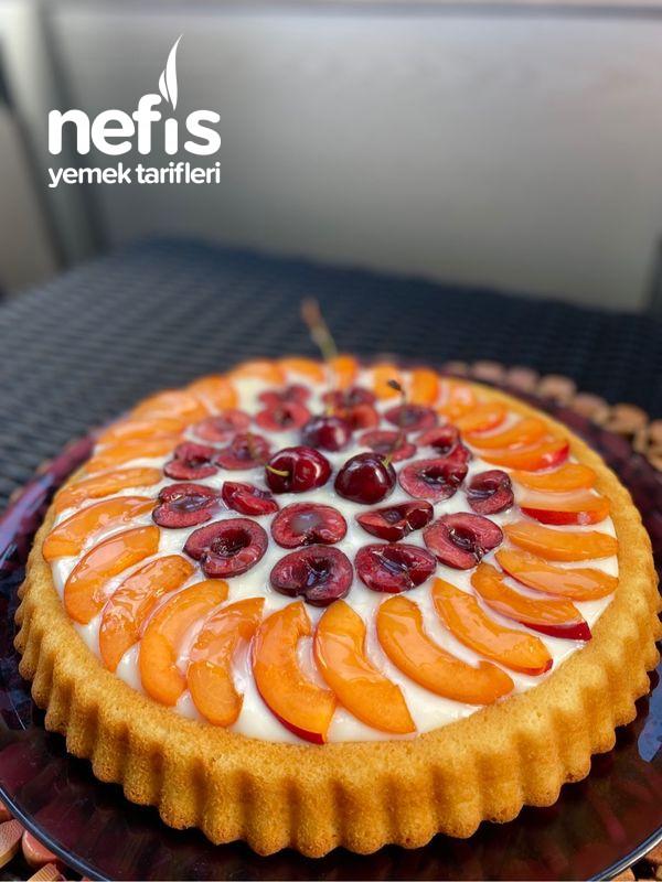 Ferah Yaz Pastası Tart Pasta
