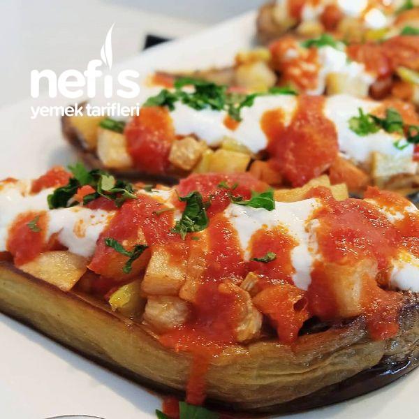 Sebzeli Patlıcan Sandal