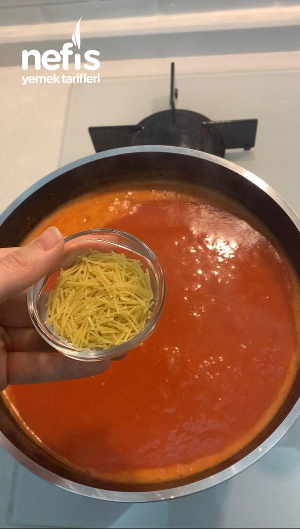 Domatesin En Güzel Hali Domates Çorbası