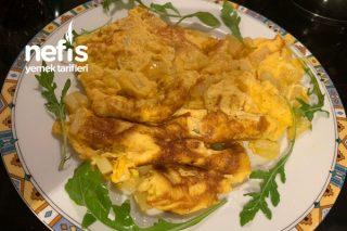 Kahvaltılık Patatesli Çarpma Yumurta Tarifi