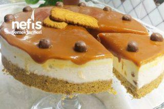 Karamelli Nefis Pişmeyen Yaz Pastası Tarifi