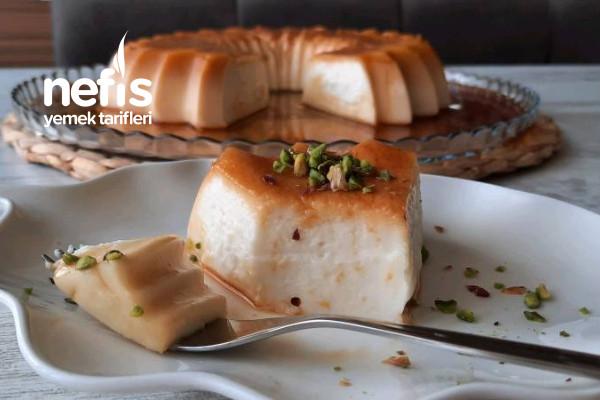 Karamel Tatlısı Yalancı Krem Karamel (Videolu)
