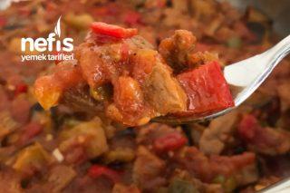 Lokum Gibi Etiyle 15 Dakikada Hazır Patlıcan Yemeği Tarifi