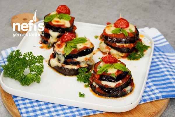 Peynirli Patlıcan Kulesi Tarifi-9575758-120719