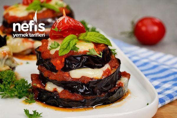 Peynirli Patlıcan Kulesi Tarifi-9575758-120722