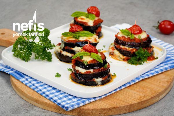 Peynirli Patlıcan Kulesi Tarifi-9575758-120730
