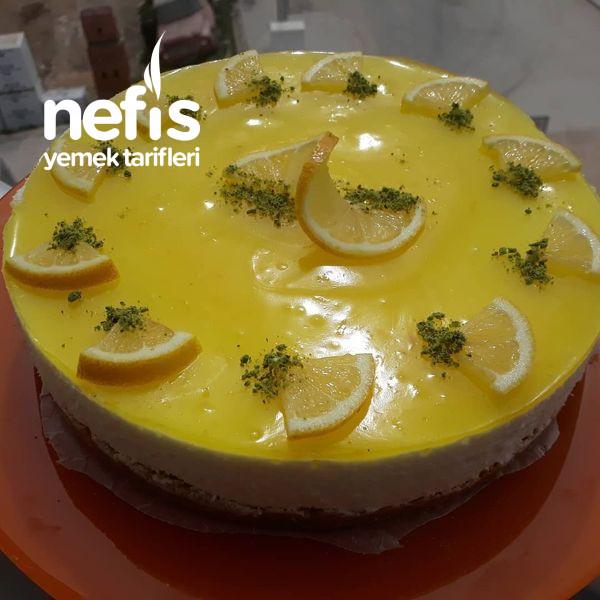 Pişmeyen Limonlu Cheesecake