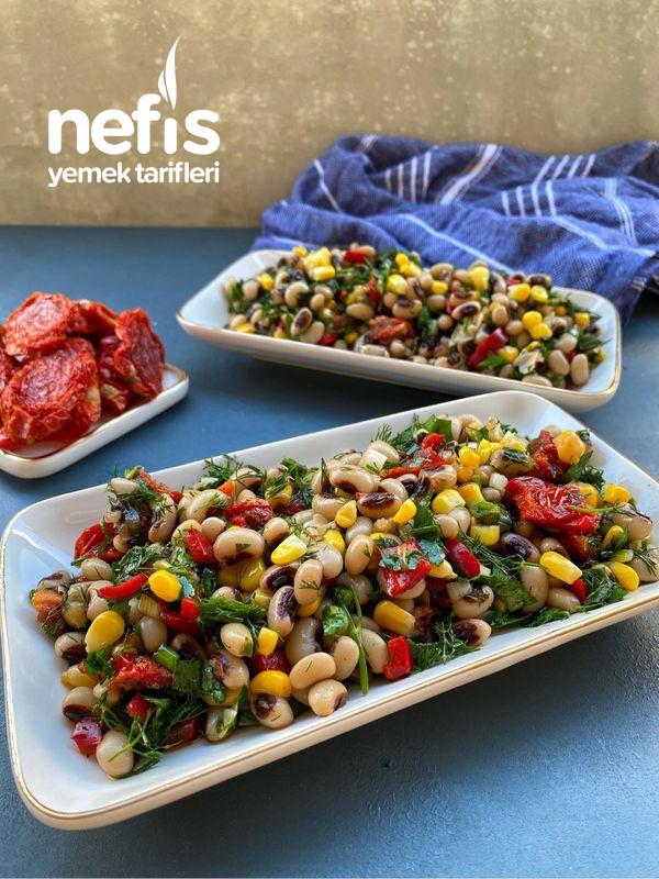 Kuru Domatesli Kuru Börülce Salatası