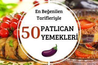 Nefis Pratik Patlıcan Yemekleri: 50 Çeşit Tarif Tarifi