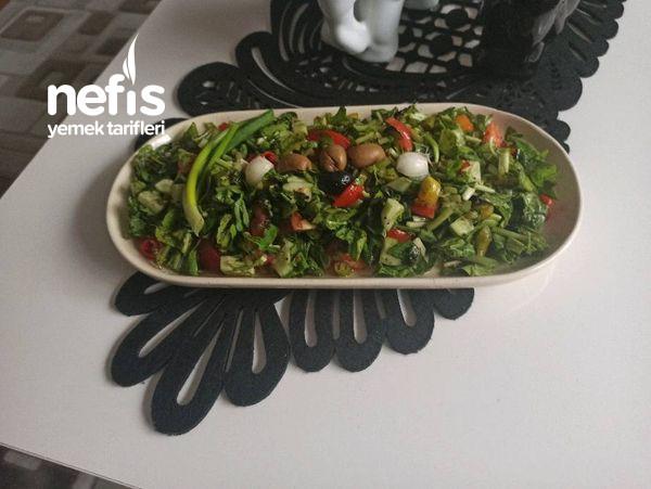 Roka Salatası Vitamin Deposu