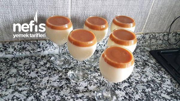 Karamelli Sütlü Tatlı (Videolu)