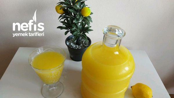 Sadece 15 Dakikada Hazır Tarif Rekoru Kıran Acısız Katkısız Limonata
