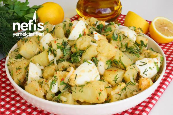 En Sevilen Salata! Yumurtalı Patates Salatası